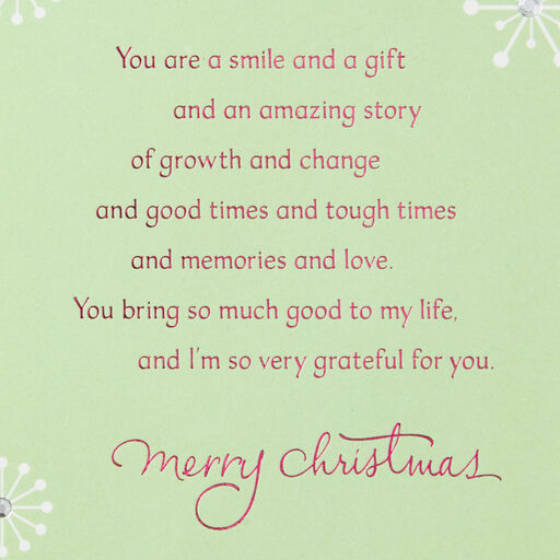 Daughter And Love Christmas Card Greeting Cards Hallmark