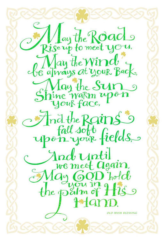 Old Irish Blessing St Patricks Day Card Greeting Cards Hallmark