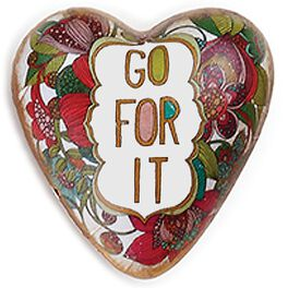 Go For It Art Heart Token, 1.5x1.5, , large