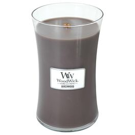 WoodWick® Large Candle, Birchwood, , large