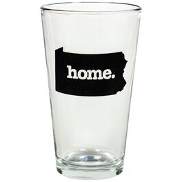Pennsylvania Home State Silhouette Pint Glass, , large