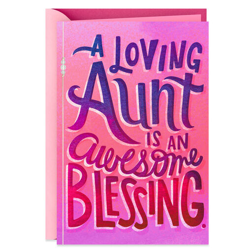 You Are A Blessing Mothers Day Card For An Aunt