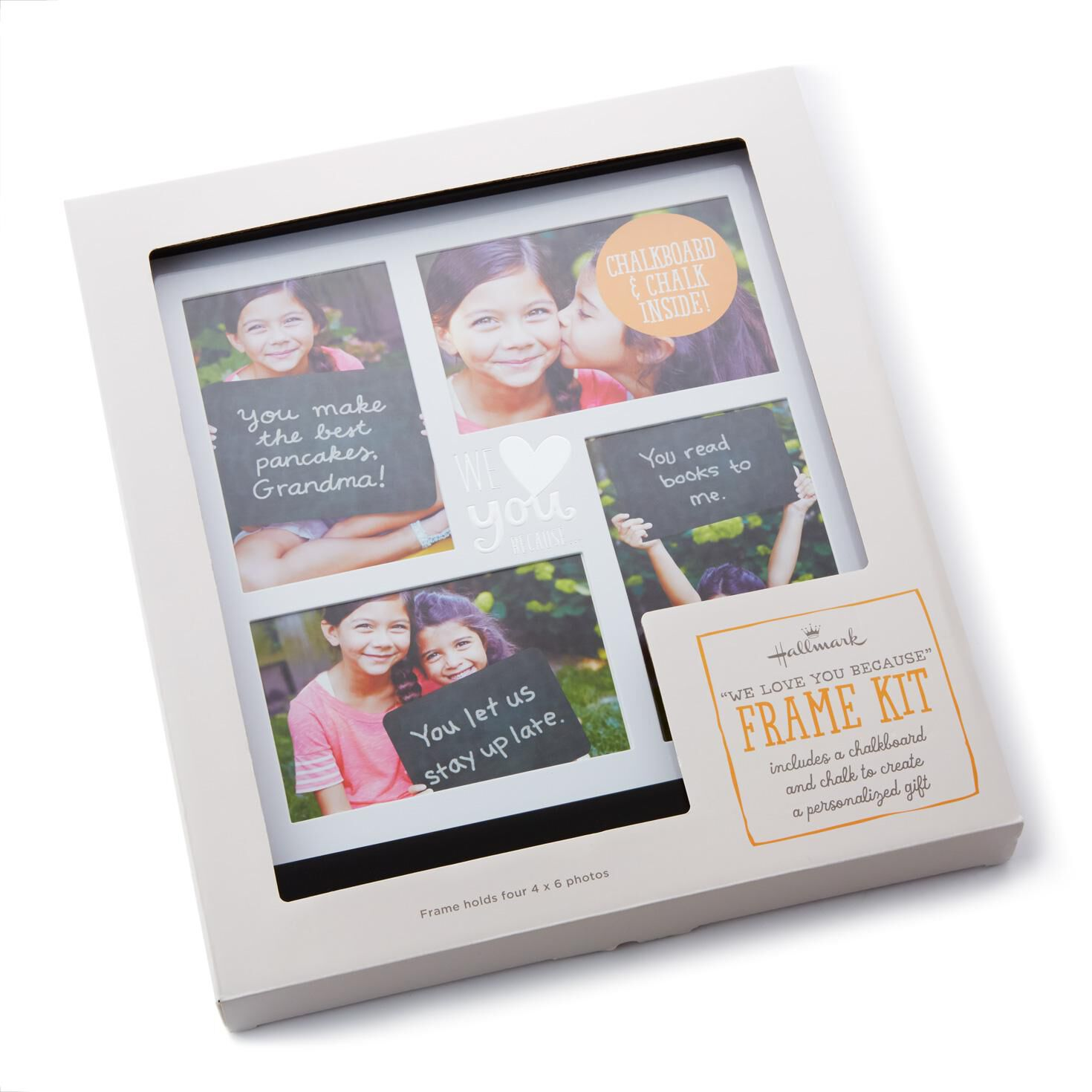 We Love You Because Picture Kit, Holds 4 Photos - Picture Frames ...