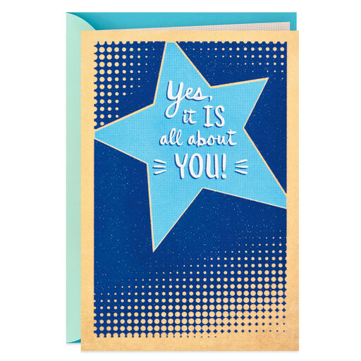 Your Awesomeness is Blinding Hallmark Graduation Card