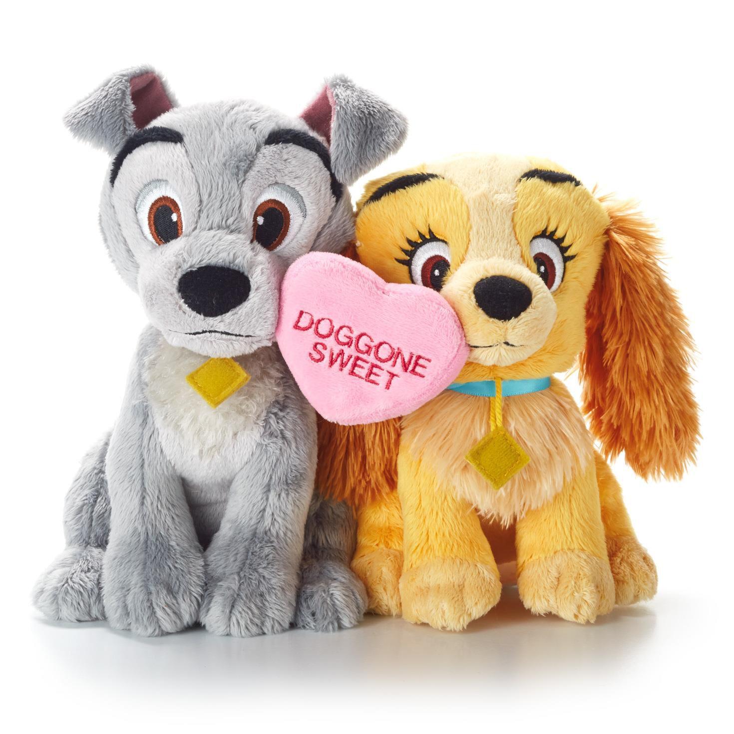 Doggone Sweet Lady And The Tramp Stuffed Animal Hallmark