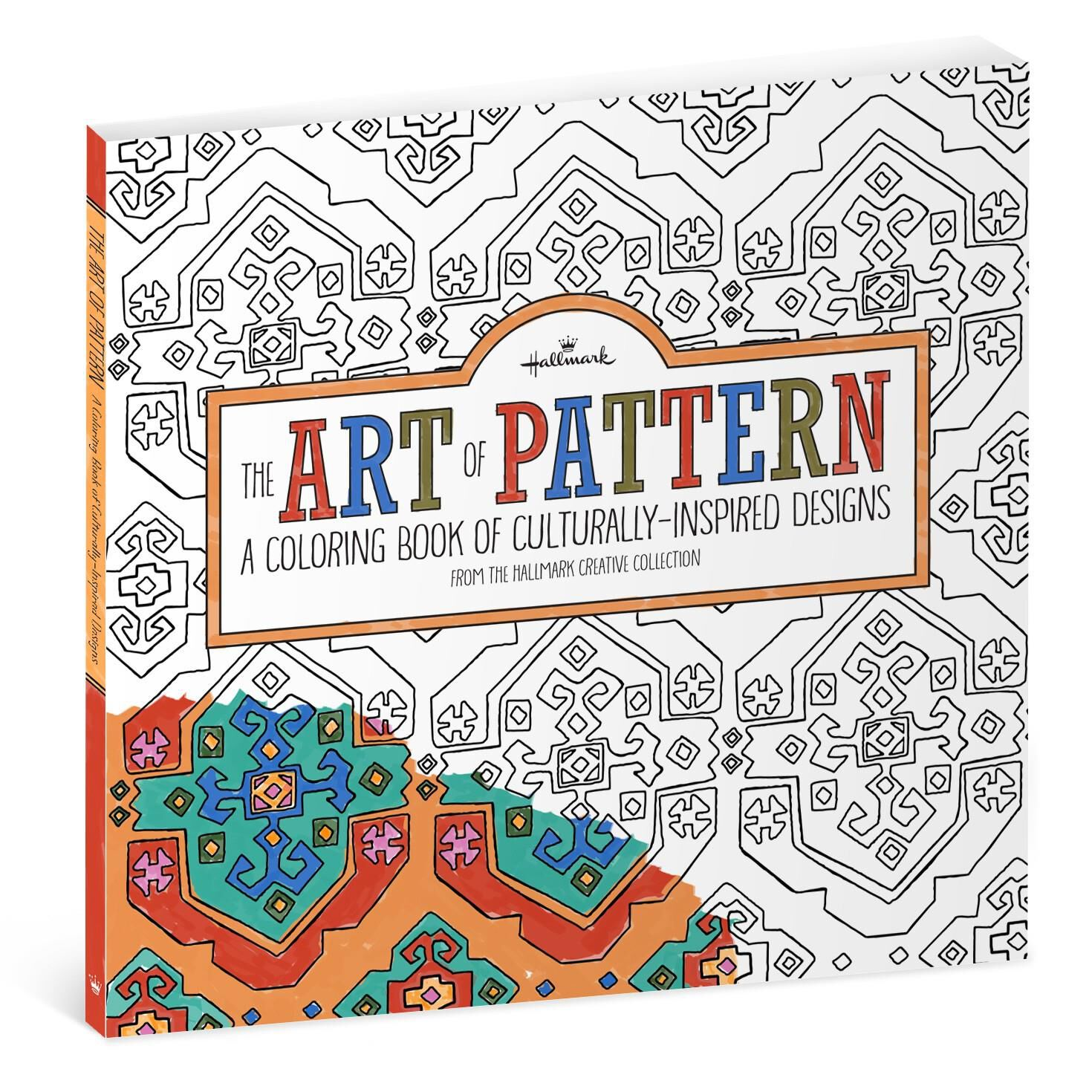 The Art Of Pattern Culturally Inspired Designs Coloring Book For Adults