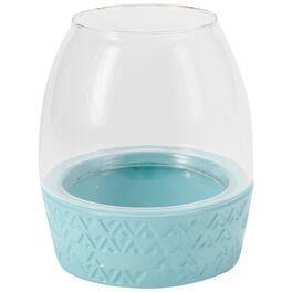 "Medium Blue Lantern, 6.5"", , large"