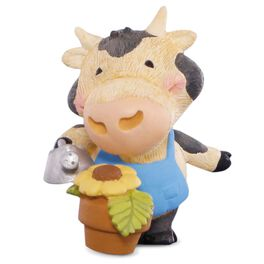 Gardening Cow Figurine, , large