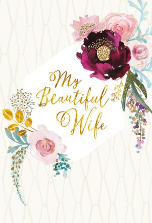 How Much You Mean to Me Anniversary Card for Wife