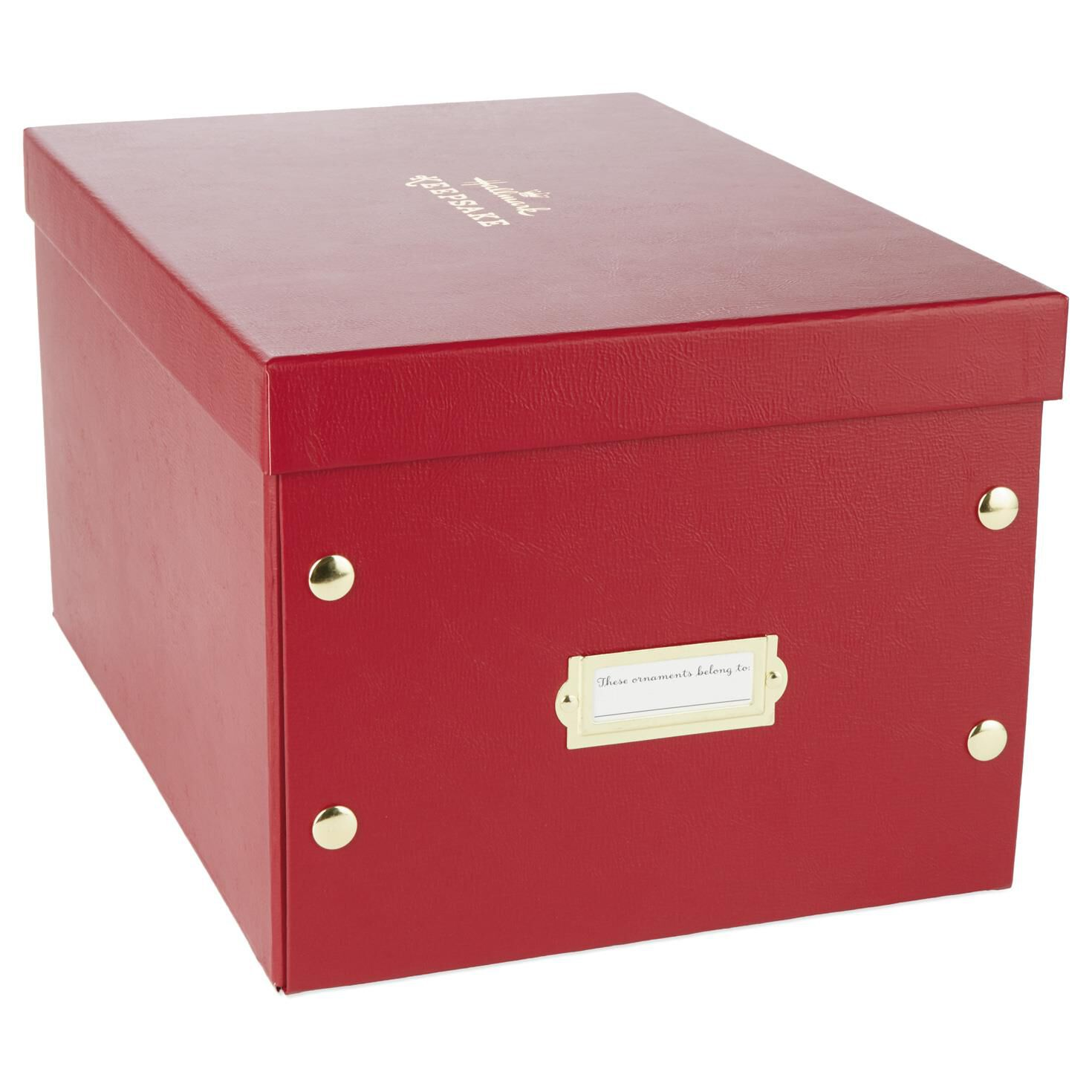 Milestones And Memories Ornament Storage Box Keepsake Ornaments