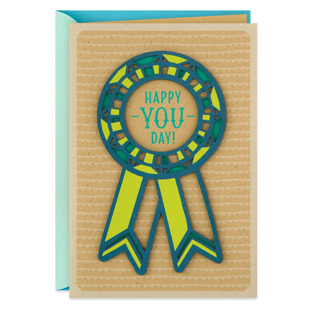 Happy You Day Birthday Card For Son From Parents