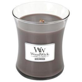 WoodWick® Medium Candle, Birchwood, , large