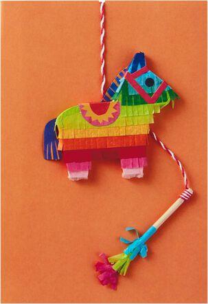 Mini Piñata, Mucho Fun Birthday Card