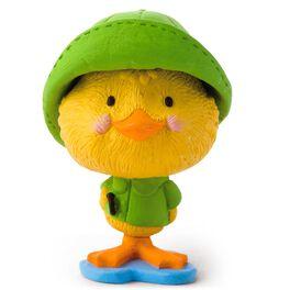 Duck in Raincoat  Figurine, , large