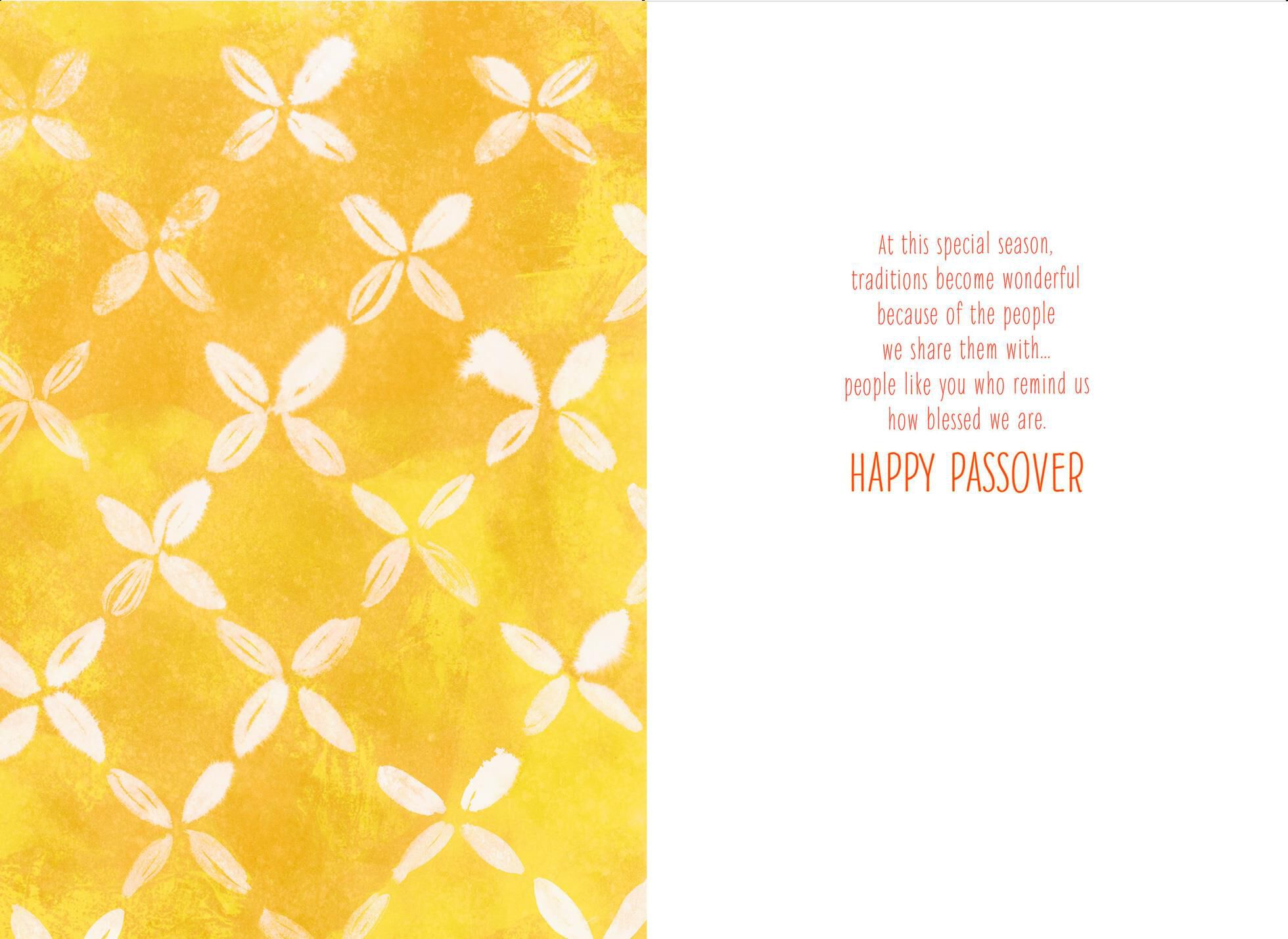 Yellow flowers passover card greeting cards hallmark Hallmark flowers