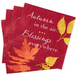 Fall Blessings Napkins, Pack of 20, , large