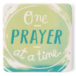 One Prayer at a Time Ceramic Magnet, , large