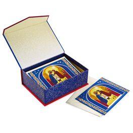 Framed Nativity Scene Christmas Cards, Box of 16, , large