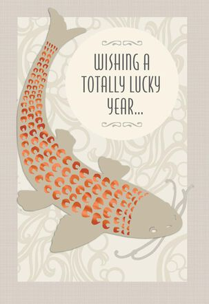 Totally Lucky Year Birthday Card
