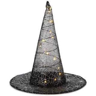 Lighted Witch Hat Decoration,