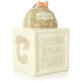 Grandbaby Spoiling Fund Ceramic Bank, , large