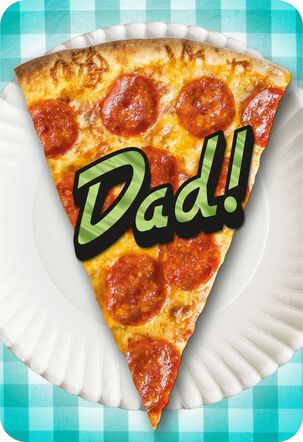 Pizza Musical Father's Day Card