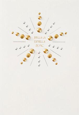 Estrella de Paz Spanish-Language Christmas Card