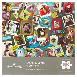Doggone Sweet 550-Piece  Puzzle, , large