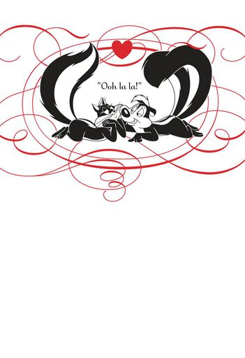 Pep Le Pew Spanish Language Wife Birthday Card Greeting Cards
