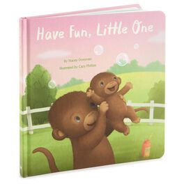 Have Fun, Little One Monkey Board Book, , large