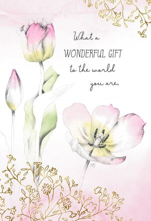 Marjolein Bastin You Are Wonderful Birthday Card