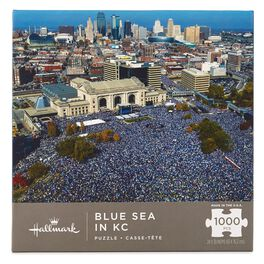 Blue Sea in KC 1000-Piece Puzzle, , large