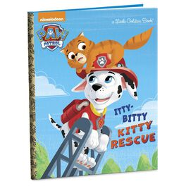 The Itty-Bitty Kitty Rescue Paw Patrol Little Golden Book, , large