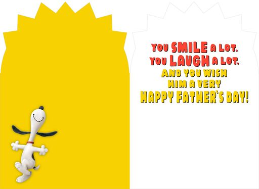 Peanuts® Snoopy Amazing Dad Father's Day Card,
