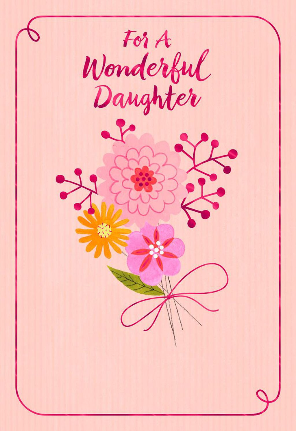 Gift From Above Religious Birthday Card For Daughter