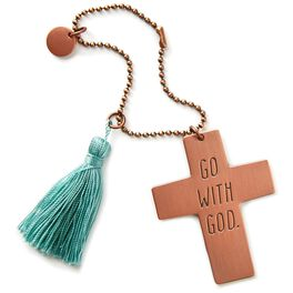 Go With God Car Mirror Charm, , large