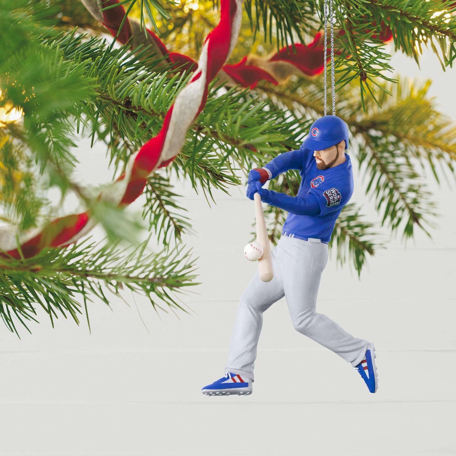 Chicago Cubs™ Ben Zobrist 2016 World Series™ MVP Ornament ...