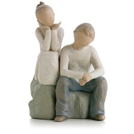 Willow Tree® Brother and Sister Figurine, , large
