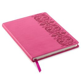 Pink Scroll Design Journal, , large