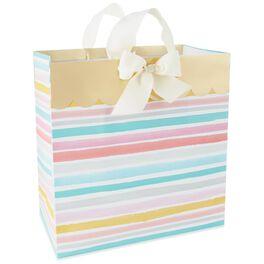 "Watercolor Stripes X-Deep Gift Bag, 15"", , large"