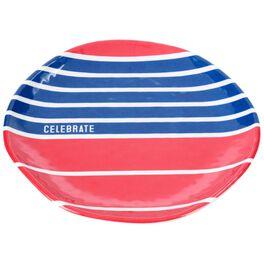 Celebrate Patriotic Large Melamine Plates, Set of 4, , large