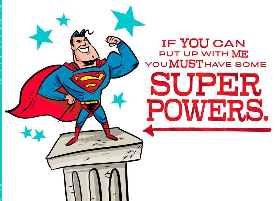 Dc Comics Superman My Hero Birthday Card Greeting Cards Hallmark