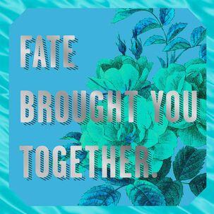 Fate Kicks Ass Wedding Card