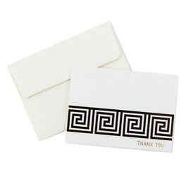 Greek Key Thank You Notes, Pack of 10, , large