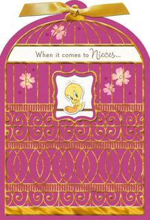 Looney Tunes You're a Tweetheart, Niece Birthday Card,