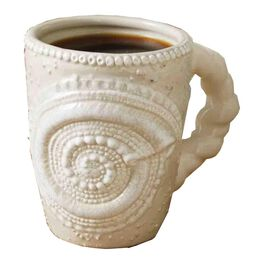 Mud Pie® Sand Nautilus Shell Mug, 12 oz., , large