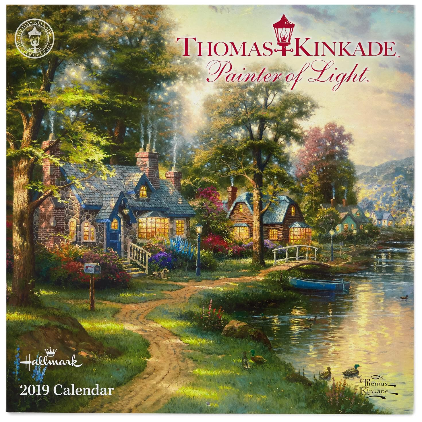Thomas Kinkade Painter Of Light™ 2019 Wall Calendar, 12 Month   Calendars    Hallmark