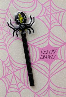 Creepy Crawly Halloween Card,