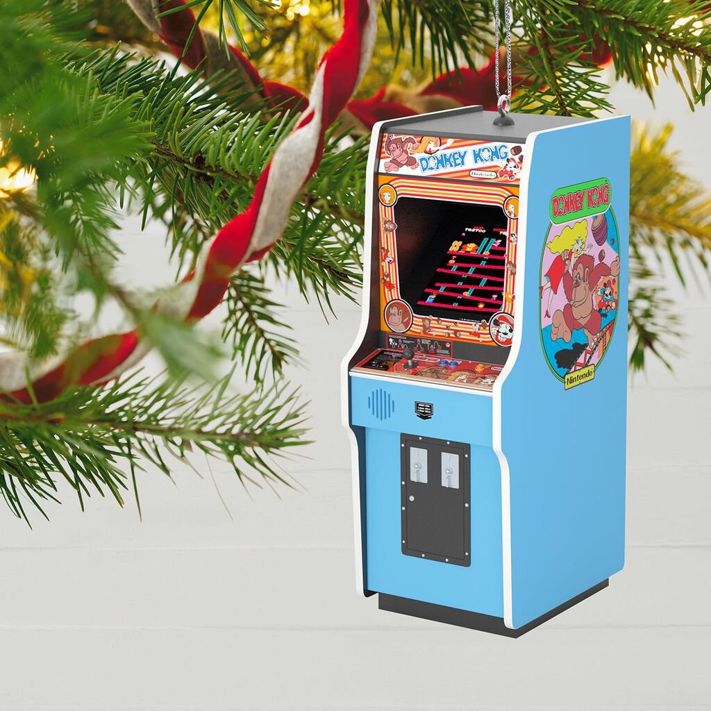 Donkey Kong Ornament With Light and Sound - Keepsake Ornaments ...