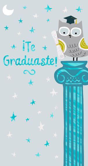 Love and Admiration Spanish-Language Graduation Card, Pack of 10